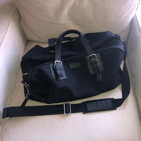 43b41267c1 Coach Handbags - Coach Signature Canvas Gym Duffle Bag H0882-F77085